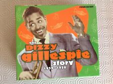 DIZZY GILLESPIE STORY 4 CDs (1939-1950) + INFORMATIVE BOOK IN CARDBOARD CASE