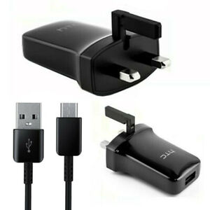 Genuine HTC TCP900 1.5A Charger + Type C cable for HTC U Play,  U12 Life, Bolt