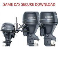 2001-2009 Yamaha F225A FL225A Outboard Motor Service Manual FAST ACCESS