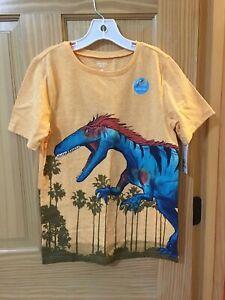 NWT Carter's Boys Dinosaur Tee Shirt Coral 5,6,10,12
