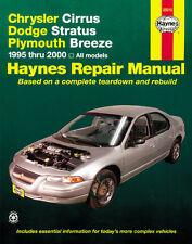 Service-manual chrysler Cirrus & dodge stratus 1995-2000