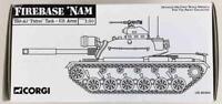 "Corgi Classics Die-Cast Figure  Firebase 'Nam - M48-A3 ""Patton"" Tank (1:50) VG"