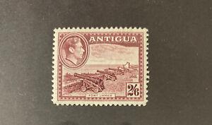 ANTIGUA  91  Beautiful  Mint Light  Hinged  Value  GEORGE VI   XF  AG