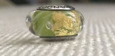 Authentic Pandora Retired Murano Effervescence Glass W/Pouch