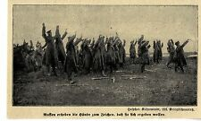 1914 * Russians collect the lap as a sign that they arise want * ww1
