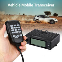 25W 200CH Mini Dual Band VHF/UHF Vehicle Mobile Amateur Ham Radio Walkie Talkie
