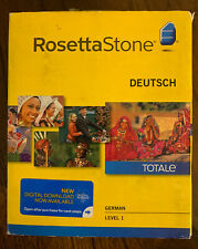 Rosetta Stone - German/Deutsch - Level 1 Version 4 Brand New - Free Shipping