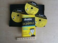 DAVID F.DIMEO'S ARABIC FOR DUMMIES 3 x 60 MINUTES CDS & 96 PAGE LISTENING GUIDE