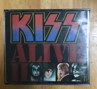 KISS Alive 2 2 CD Set Rare US BMG Music Club Issue No UPC see Pics One Booklet