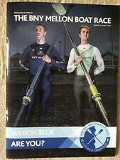 More details for programme varsity boatrace oxford v cambridge 2013.