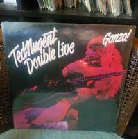 TED NUGENT DOUBLE LIVE GONZO Original 1978 EPIC 1st Press 2LP SEALED NO BAR CODE