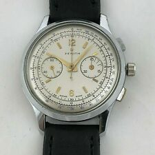 ZENITH EXCELSIOR PARK 143-6 CHRONOGRAPH BIG SIZE MANUAL WIND  38 MM