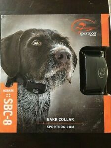 SportDOG SBC-8 No Bark Control Collar Stop Barking New