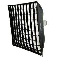 Easy-Open Umbrella Softbox Lightweight Portable Honeycomb Grid 100cmx100cm