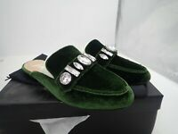 The Fix Women's Francesca Slip-On Loafer or mule Large Jewels size 9 and 6.5 M