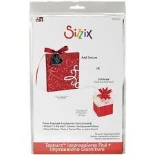 Sizzix BIGkick/Big Shot Texturz Impressions Pad - 366277
