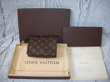 GENUINE 100% LOUIS VUITTON POCHE TOILETTE 15 Model Number M47546