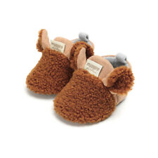 Winter Toddler Baby Boy Girl Warm Snow Boots Infant Soft Sole Slipper Crib Shoes