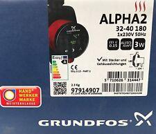 Grundfos Alpha2 32-40 PN10 G 180 mm Hocheffizienzpumpe 2 Zoll 230V, 97914907