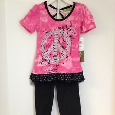 Girls Baby Ziggles Outfit Size 2T NWT