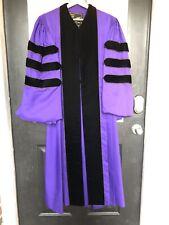Bentley & Simon Clergy Robe Academic Gown Judge Doctoral Purple