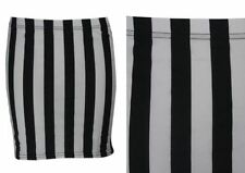 Machine Washable Mini Striped Skirts for Women