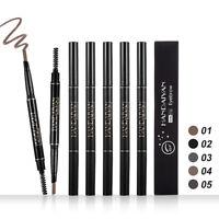Microblading Tattoo Eyebrow Pen Long Lasting Eye Brow Eyeliner Pencil Make up UK