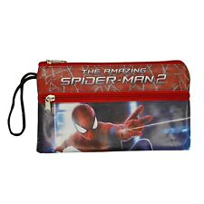 Marvel The Amazing Spider-Man 2 Standard Size Double Zip Pencil Case for kids