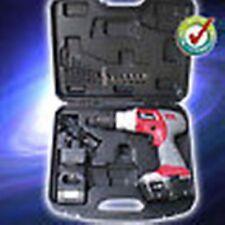 18V Akkuschrauber Akku-Bohrschrauber mit Koffer 2 Akkus Beleuchtung Bohrer