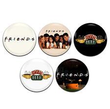 5x Friends TV Show 25mm / 1 Inch D Pin Button Badges