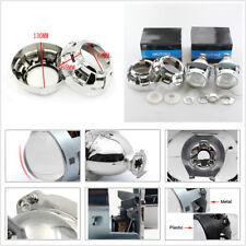 2X 3'' 35W H1 H4 H7 Car Headlight RHD HID Bi-Xenon Projector Lens & Shrouds Kit