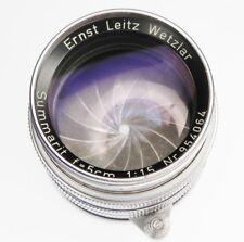 Leica SM 5cm f1.5 Summarit  #954064