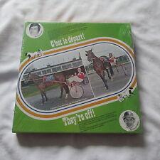 1975 THEY'RE OFF C'EST LE DEPART HORSE RACING GAME jeu LP BLUE BONNETS MONTREAL
