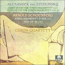 Zemlinsky and Schoenberg String Quartets, New Music