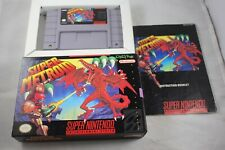 Super Metroid (Super Nintendo SNES) Complete in Box GREAT