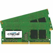 Crucial 8GB KIT 2 x 4GB DDR4 2133 MHz PC4-17000 SODIMM 260-Pin Laptop Memory