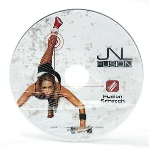 JNL Fusion Exclusive Collection - FUSION STRETCH DVD, for Home Fitness Body FX