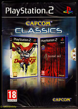 PS2 Capcom Classics Devil Kings & Resident Evil 4 (2010) PAL Reino Unido, Sellado De Fábrica