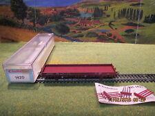 Wagon plat Electrotren N°1420 pour locomotive Fleischmann