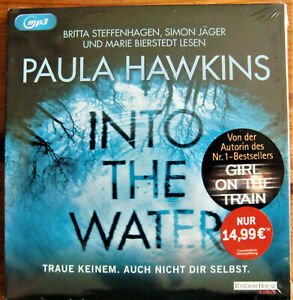 "Hörbuch/Hörspiel ""INTO THE WATER"" Krimi von Paula Hawkins, Random House Audio"