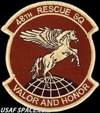 USAF 48th RESCUE SQUADRON -COMBAT SAR- Holloman AFB, NM - ORIGINAL DESERT PATCH