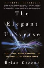 THE ELEGANT UNIVERSE by Brian Greene a paperback book FREE USA SHIPPING
