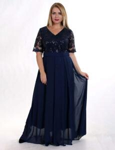 Kleid Hochwertige  Abendkleid Ballkleid Partykleid Abikleid  Paielletten JGA