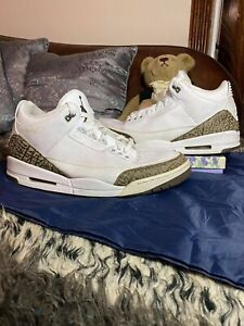 Nike Air Jordan 3 III Retro Mocha 2018 Size 14 136064-122 White Brown Black
