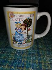 Mary Engelbriet Coffee Mug Be Kind To Thy Sister Ceramic Cup