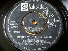 "Le Royal de gardes-SNOOPY VS THE RED BARON 7"" vinyle"