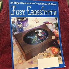 Just Cross Stitch Magazine Silk Ribbon Cross Stitch Projects Jan/Feb 1993
