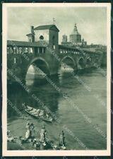 Pavia Città Barca FG cartolina ZKM9063
