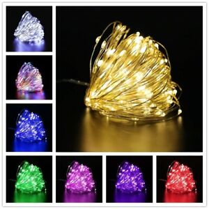 1m 10LED 5V Waterproof Fairy Lights Party Wedding Decoration Home Outdoor Indoor