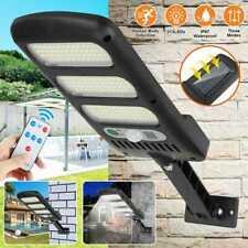 213 LEDs Outdoor Solar Street Wall Light Sensor Motion LED Lamp + Remote Control